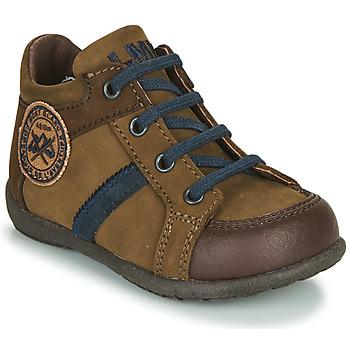 Chaussures Garçon Boots Little Mary COQUIN *NUBUCK PIN