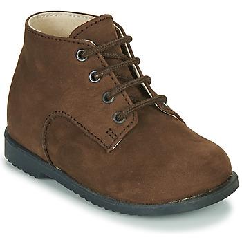 Chaussures Garçon Boots Little Mary MILOT NUBUCK RONCE