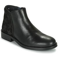 Schuhe Mädchen Boots Little Mary CAMERON *VACHETTE NOIRE