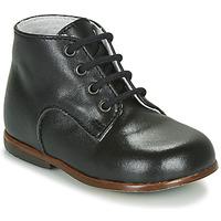Chaussures Enfant Boots Little Mary MILOTO *VACHETTE NOIRE
