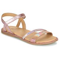 Schuhe Mädchen Sandalen / Sandaletten Little Mary DOLERON *METAL PINK