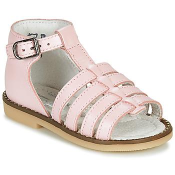 Schuhe Mädchen Sandalen / Sandaletten Little Mary HOLIDAY PERLADO GUIMAUVE
