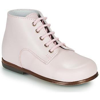 Chaussures Enfant Boots Little Mary MILOTO VACHETTE GUIMAUVE