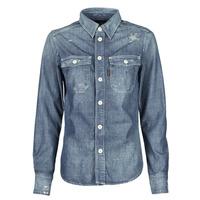 Vêtements Femme Chemises / Chemisiers G-Star Raw KICK BACK WORKER SHIRT WMN L\S