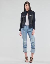 Vêtements Femme Jeans droit G-Star Raw NOXER HIGH STRAIGHT WMN