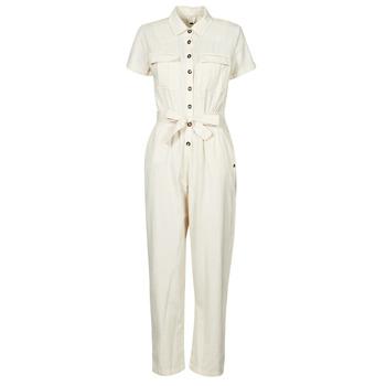 Kleidung Damen Overalls / Latzhosen Roxy BEACH WONDERLAND Weiß
