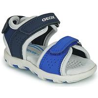 Chaussures Garçon Sandales et Nu-pieds Geox B SANDAL PIANETA