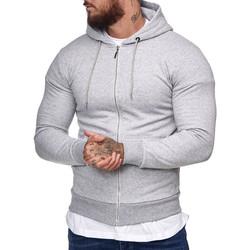 Vêtements Homme Sweats Cabin Veste zippé à capuche homme Veste 1076 gris clair Gris