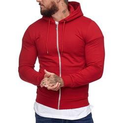 Vêtements Homme Sweats Cabin Veste à capuche pour homme Veste1076 rouge Rouge
