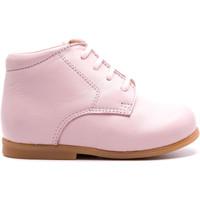 Chaussures Enfant Boots Boni & Sidonie Chaussure bébé premier pas en cuir - BABY Rose