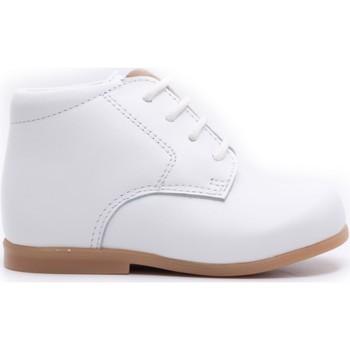 Chaussures Enfant Boots Boni & Sidonie Chaussure bébé premier pas en cuir - BABY Blanche