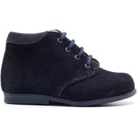 Chaussures Enfant Boots Boni & Sidonie Chaussure premiers pas en daim - NOA Daim Bleu Marine