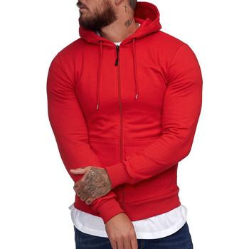 Vêtements Homme Sweats Cabin veste à capuche pour homme Veste 1074 rouge Rouge