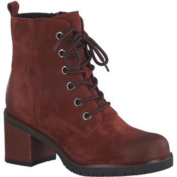 Chaussures Femme Bottines Marco Tozzi 25202 rouge