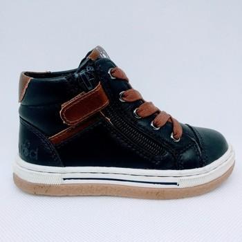 Chaussures Garçon Baskets mode Mod'8 KYNATA E/J bleu