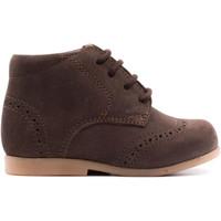 Chaussures Enfant Boots Boni & Sidonie Chaussure premiers-pas en nubuck - MAE Daim Marron