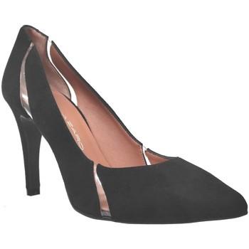 Chaussures Femme Escarpins Brenda Zaro F3779 Noir velours
