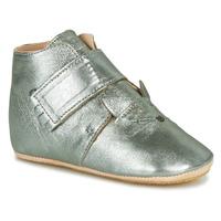 Schuhe Kinder Hausschuhe Easy Peasy KINY CHAT Grau
