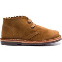 Chaussures Enfant Boots Boni & Sidonie Bottines en daim à lacet - BABE II Daim Marron