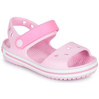 Schuhe Mädchen Sandalen / Sandaletten Crocs CROCBAND SANDAL KIDS