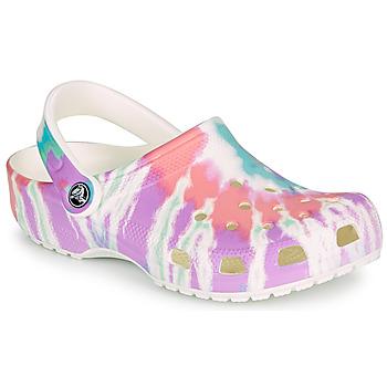 Chaussures Femme Sabots Crocs CLASSIC TIE DYE GRAPHIC CLOG