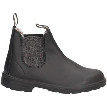Chaussures Fille Boots Blundstone 2096 NOIR ARGENT