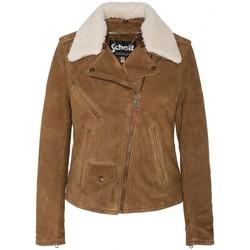 Vêtements Femme Blousons Schott Blouson Perfecto  LCW2620 Rust Marron