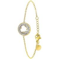 Montres & Bijoux Femme Bracelets Sc Crystal B2125-BLANC Doré