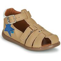 Schuhe Jungen Sandalen / Sandaletten GBB GARDOU VTE BEIGE DPF/CRIC