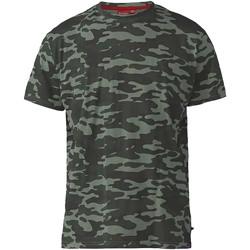 Vêtements Homme T-shirts manches courtes Duke  Kaki