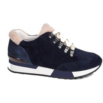 Chaussures Femme Baskets basses Karston Basket sifour bleu