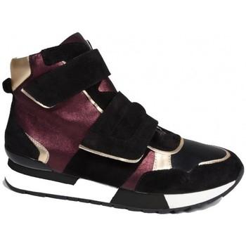 Chaussures Femme Baskets montantes Karston Basket sitou Noir