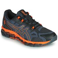 Schuhe Herren Sneaker Low Asics QUANTUM 360 6 Grau / Orange
