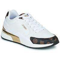 Schuhe Damen Sneaker Low Guess MOXEA Weiß