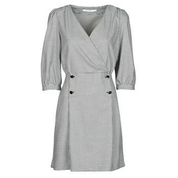 Vêtements Femme Robes courtes Naf Naf  Noir / Blanc