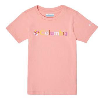 Abbigliamento Bambina T-shirt maniche corte Columbia SWEET PINES GRAPHIC