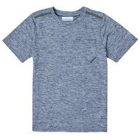 Kleidung Jungen T-Shirts Columbia TECH TREK Marineblau