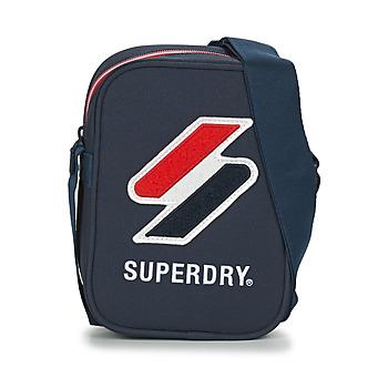 Taschen Geldtasche / Handtasche Superdry SPORTSTYLE SIDE BAG Marineblau