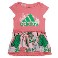 Kleidung Mädchen Kurze Kleider adidas Performance FLOWER DRESS Bunt