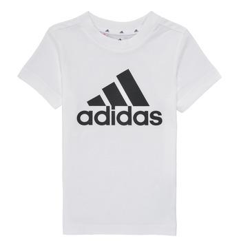 Kleidung Jungen T-Shirts adidas Performance B BL T Weiß