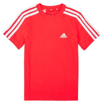 Vêtements Garçon T-shirts manches courtes adidas Performance B 3S T