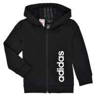 Kleidung Jungen Sweatshirts adidas Performance YB TR 3S FZ