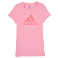 Kleidung Mädchen T-Shirts adidas Performance G BL T