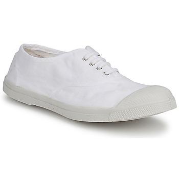 Schuhe Herren Sneaker Low Bensimon TENNIS LACET Weiß