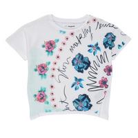 Vêtements Fille T-shirts manches courtes Desigual 21SGTK02-1000