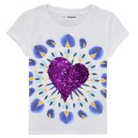 Abbigliamento Bambina T-shirt maniche corte Desigual 21SGTK45-1000