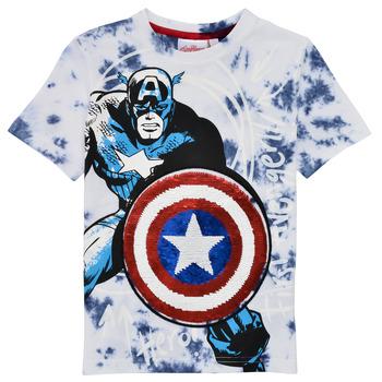 Vêtements Garçon T-shirts manches courtes Desigual 21SBTK09-5036