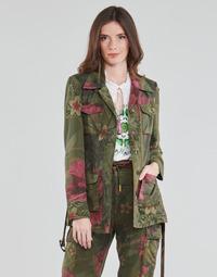 Kleidung Damen Jacken / Blazers Desigual CAMOASIS Khaki