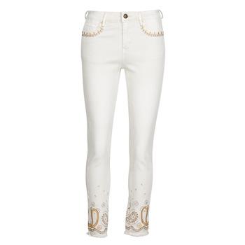 Abbigliamento Donna Jeans slim Desigual PAISLEY