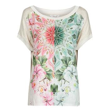 Kleidung Damen T-Shirts Desigual COPENHAGUE Weiß